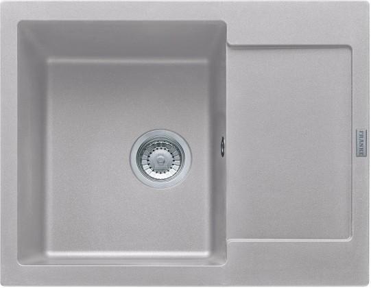 Dřez rovný Franke - dřez Fragranit MRG 611-62, 620x500 (stříbrná)