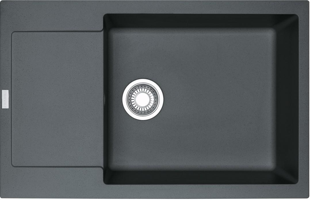 Dřez rovný Franke - dřez Fragranit MRG 611-78 BB, 780x500 (grafit)