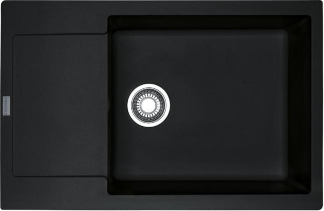 Dřez rovný Franke - dřez Fragranit MRG 611-78 BB, 780x500 (onyx)