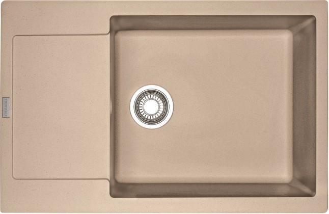 Dřez rovný Franke - dřez Fragranit MRG 611-78 BB, 780x500 (pískový melír)