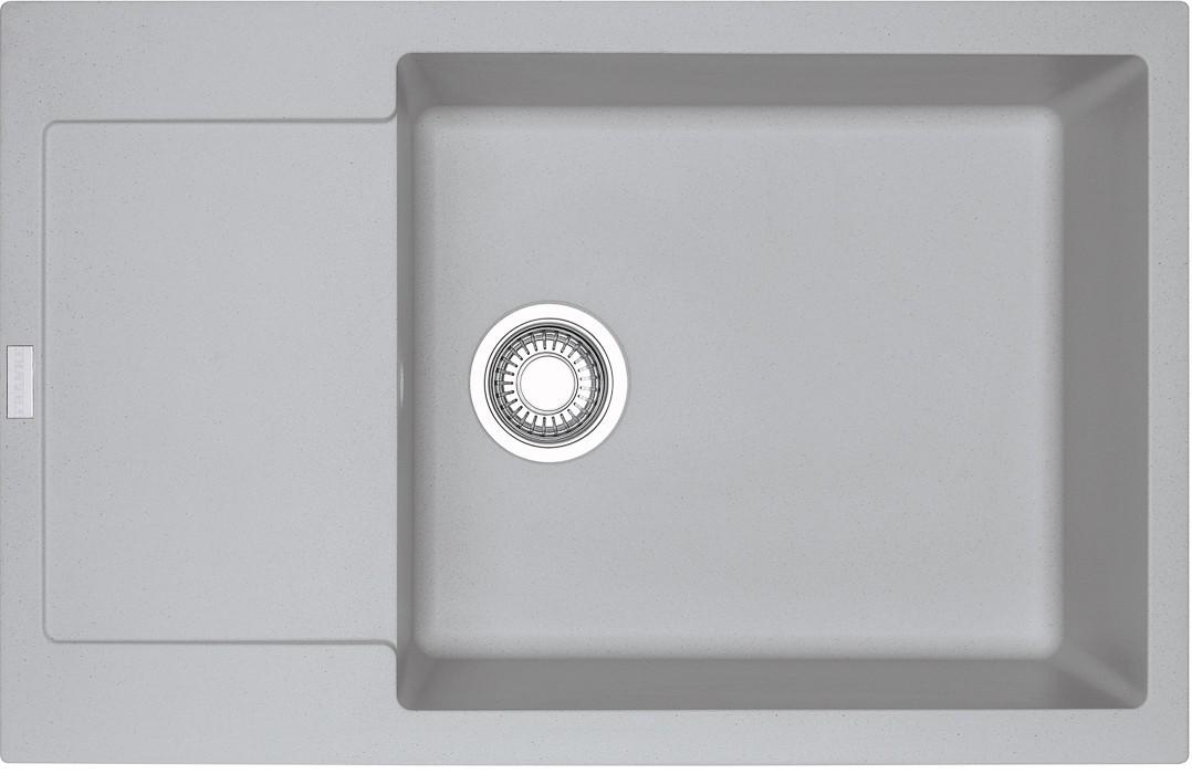 Dřez rovný Franke - dřez Fragranit MRG 611-78 BB, 780x500 (stříbrná)