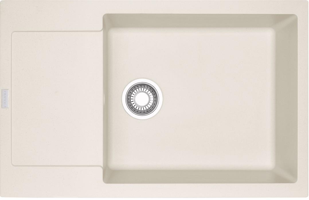 Dřez rovný Franke - dřez Fragranit MRG 611-78 BB, 780x500 (vanilka)