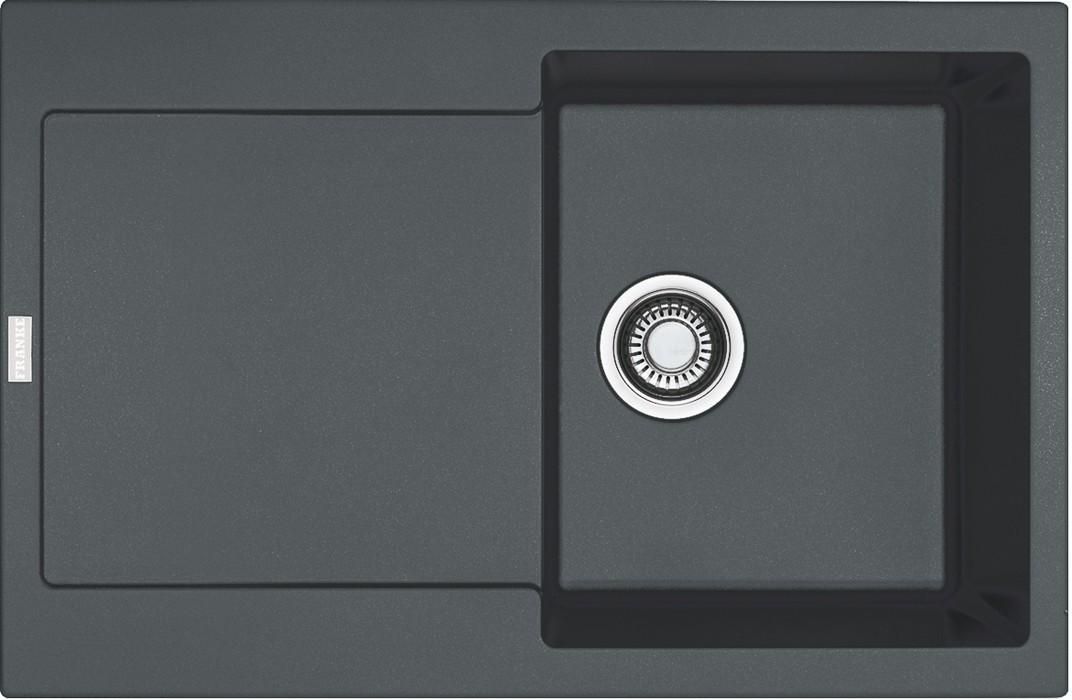 Dřez rovný Franke - dřez Fragranit MRG 611, 780x500 (grafit)