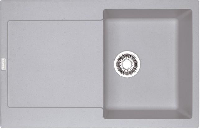 Dřez rovný Franke - dřez Fragranit MRG 611, 780x500 (stříbrná)