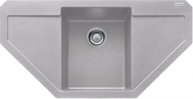 Dřez rovný Franke - dřez Fragranit MRG 612 E, 960x500 (stříbrná)