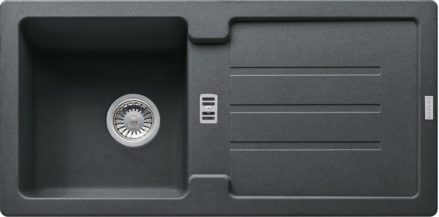 Dřez rovný Franke - dřez Fragranit STG 614, 860x435mm (grafit)
