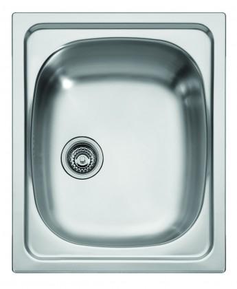 """Dřez rovný Franke - dřez nerez AGX 610 3 1/2"""", 420x500 mm (stříbrná)"""