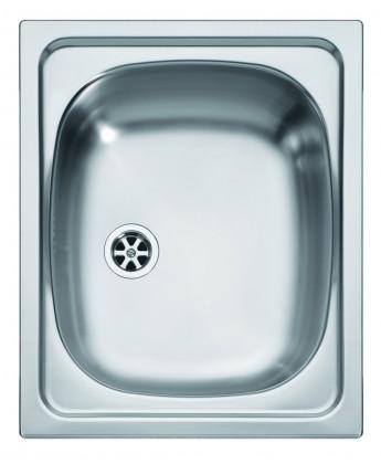 """Dřez rovný Franke - dřez nerez AGX 610 6/4"""", 420x500 mm (stříbrná)"""