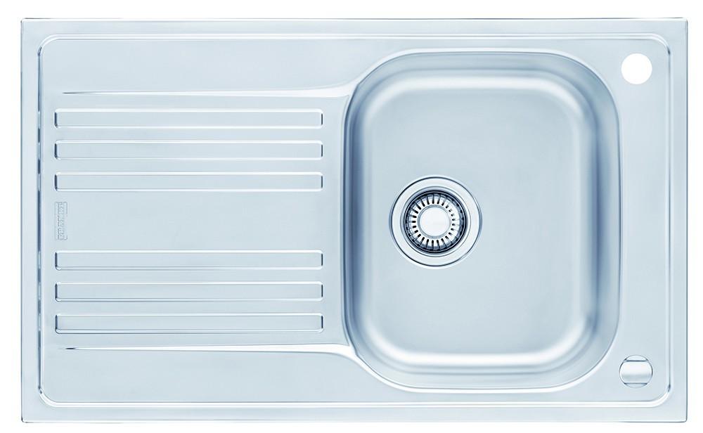 """Dřez rovný Franke - dřez nerez EFN 611 3 1/2"""", 780x475 mm (stříbrná)"""