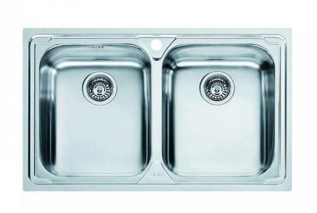 """Dřez rovný Franke - dřez nerez LLX 620 3 1/2"""", 790x500 mm (stříbrná)"""