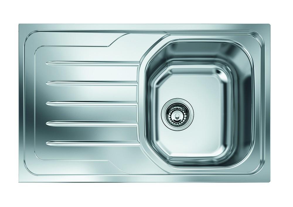 """Dřez rovný Franke - dřez nerez OLX 611 3 1/2"""", 790x500 mm (stříbrná)"""