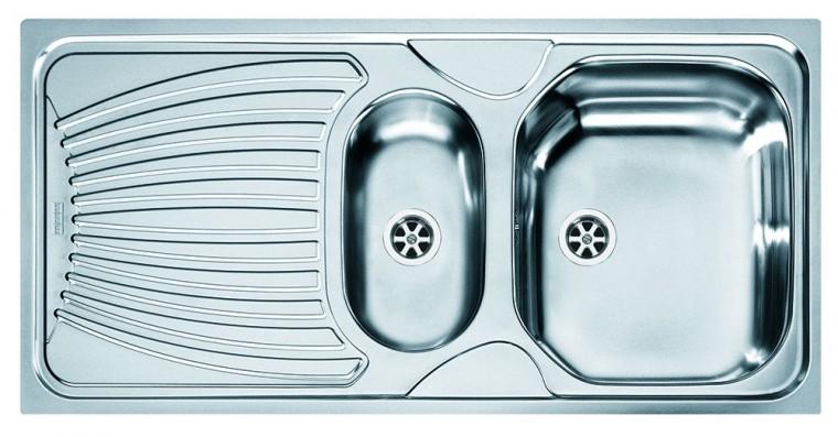 """Dřez rovný Franke - dřez nerez ONN 651 6/4"""", 1000x500 mm  (stříbrná)"""