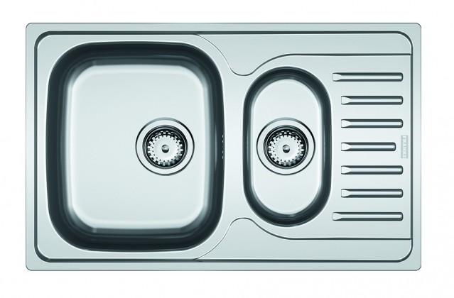 Dřez rovný Franke - dřez nerez PXN 651-78 3 1/2, 780x490 mm (stříbrná)