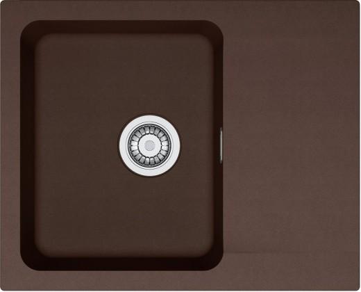 Dřez rovný Franke - dřez Tectonite OID 611-62, 620x500 mm (hnědá )
