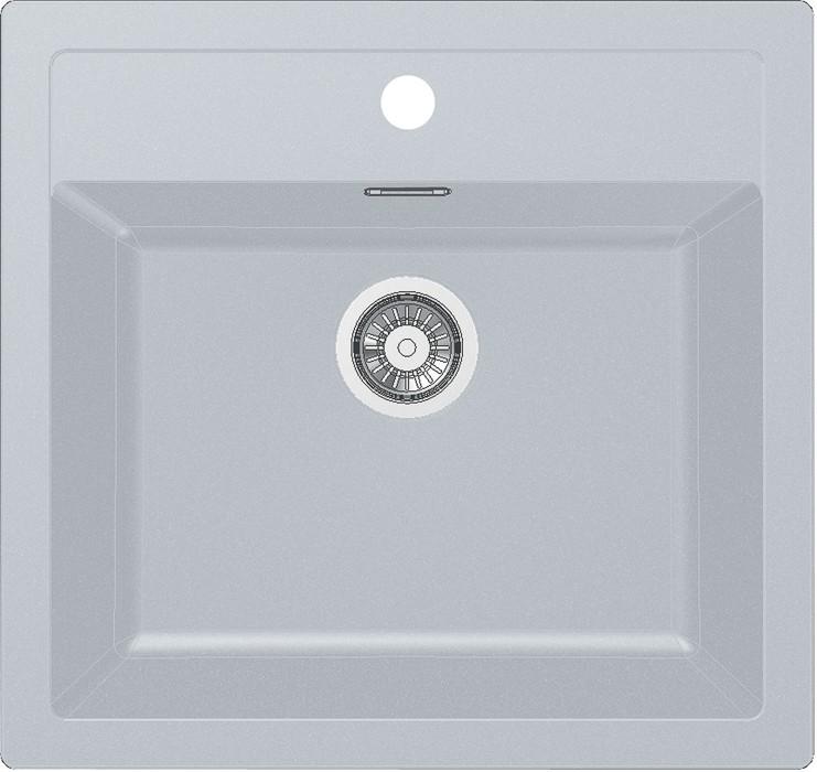 Dřez rovný Franke - dřez Tectonite SID 610, 560x530 mm (bílá)