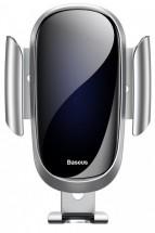 Držák Baseus, do mřížky, Future Gravity,stříbrná