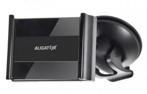 Držák do auta Aligator HA2 2v1, otočný 360°, roztahovací úchyt