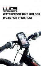Držák mobilního telefonu/navigace na kolo WG16