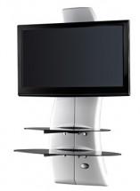 Držák televize MELICONI GHOST, VESA max 400x400, 30kg, bílý