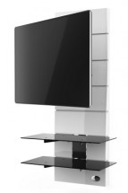 Držák televize MELICONI GHOST, VESA max ,400x400, 30kg, bílý