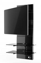 Držák televize MELICONI GHOST, VESA max 400x400, 30kg, černý