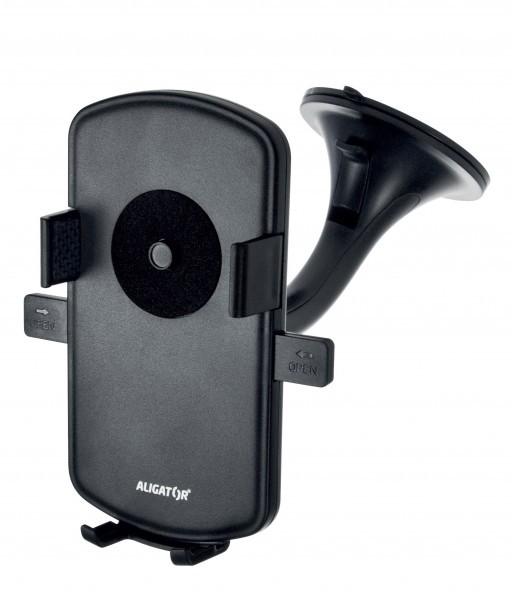 Držáky na mobil do auta Držák do auta Aligator HA1 2v1, otočný 360°, automatický úchyt
