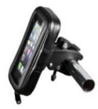 Držáky na mobil na kolo a motorku Držák mobilního telefonu/navigace na kolo WG15 ROZBALENO