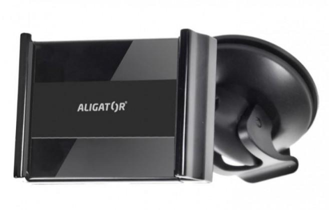 Držáky, stojany Držák do auta Aligator HA2 2v1, otočný 360°, roztahovací úchyt