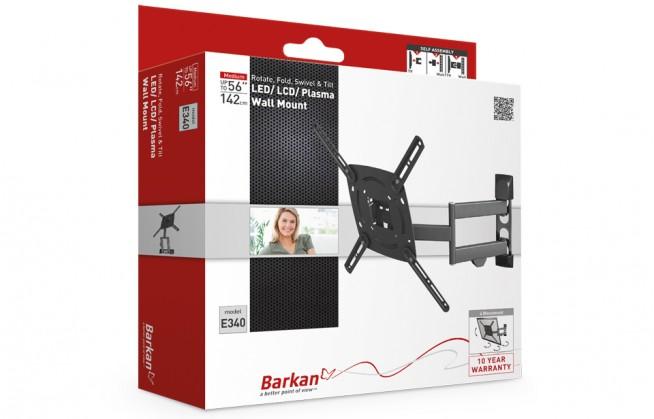 Držáky TV Barkan BAR-E340.B