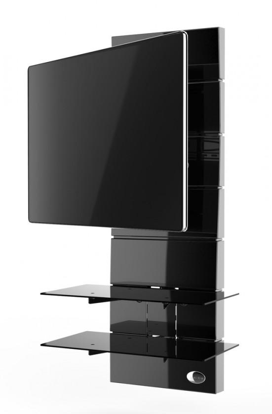 Držáky TV Držák televize MELICONI GHOST, VESA max 400x400, 30kg, černý