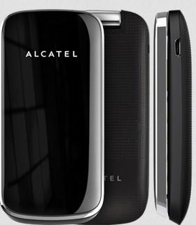 Dual SIM telefon ALCATEL ONETOUCH 1030D Light Chrome ROZBALENO