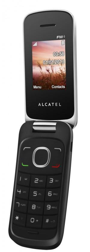 Dual SIM telefon ALCATEL ONETOUCH 1030D Light Chrome