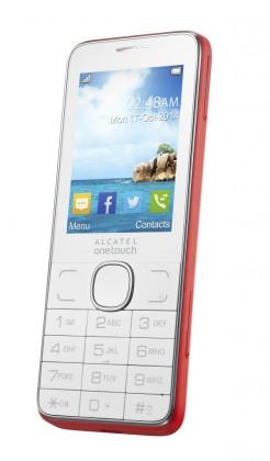 Dual SIM telefon ALCATEL ONETOUCH 2007D Red