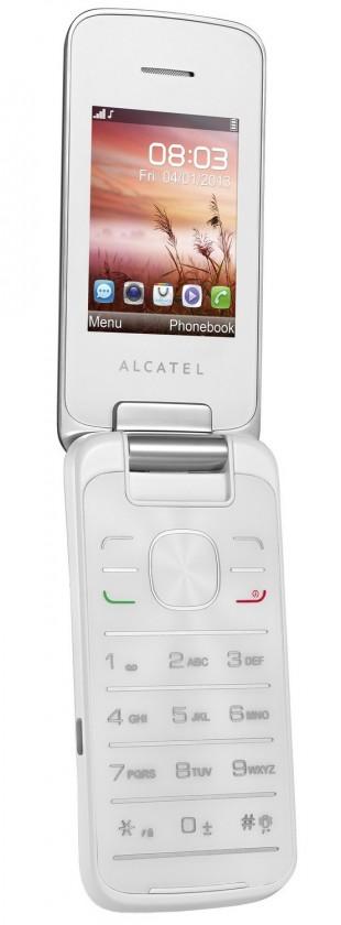Dual SIM telefon ALCATEL ONETOUCH 2010D Pure White