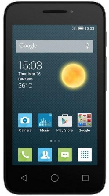 Dual SIM telefon ALCATEL ONETOUCH 4013D PIXI 3 (4) Silver