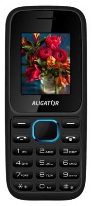 Dual SIM telefon Aligator D200 Dual sim černo-modrá