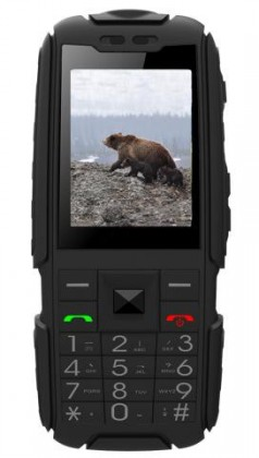 Dual SIM telefon Aligator R20 eXtremo, černá