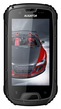 Dual SIM telefon Aligator RX430 eXtremo Dual Black ROZBALENO
