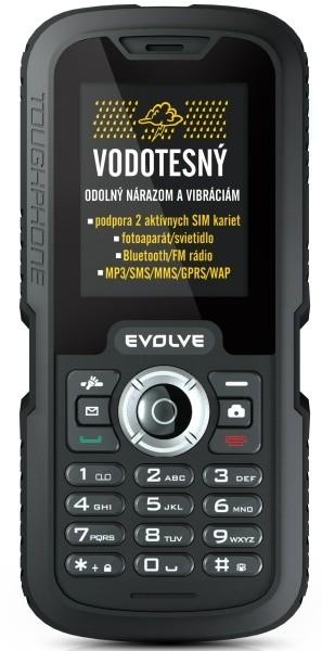 Dual SIM telefon EVOLVEO Gladiator RG250