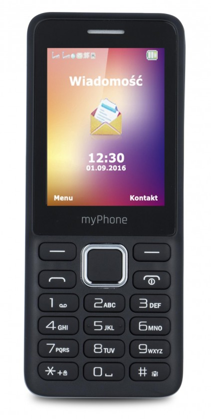 Dual SIM telefon myPhone 6310 černá