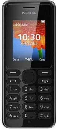 Dual SIM telefon Nokia 108 Dual SIM Black