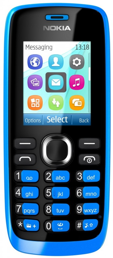 Dual SIM telefon Nokia 112 Cyan