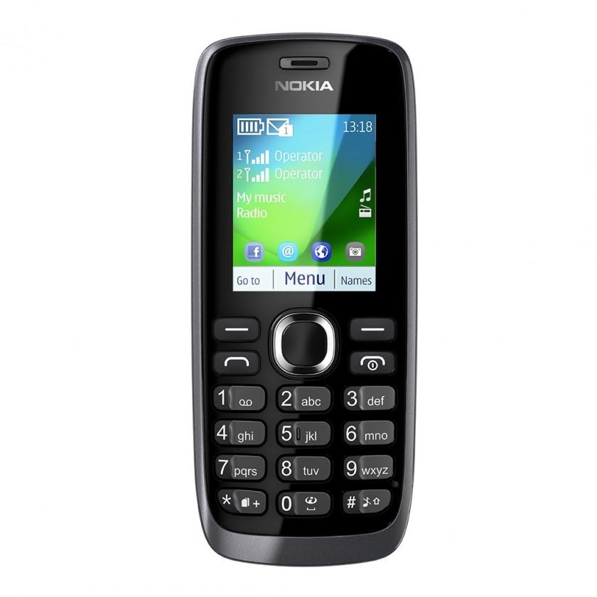 Dual SIM telefon Nokia 112 Grey