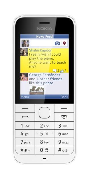 Dual SIM telefon Nokia 220 Dual SIM White