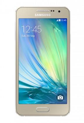 Dual SIM telefon Samsung Galaxy A3 (černá, 16 GB) ROZBALENO