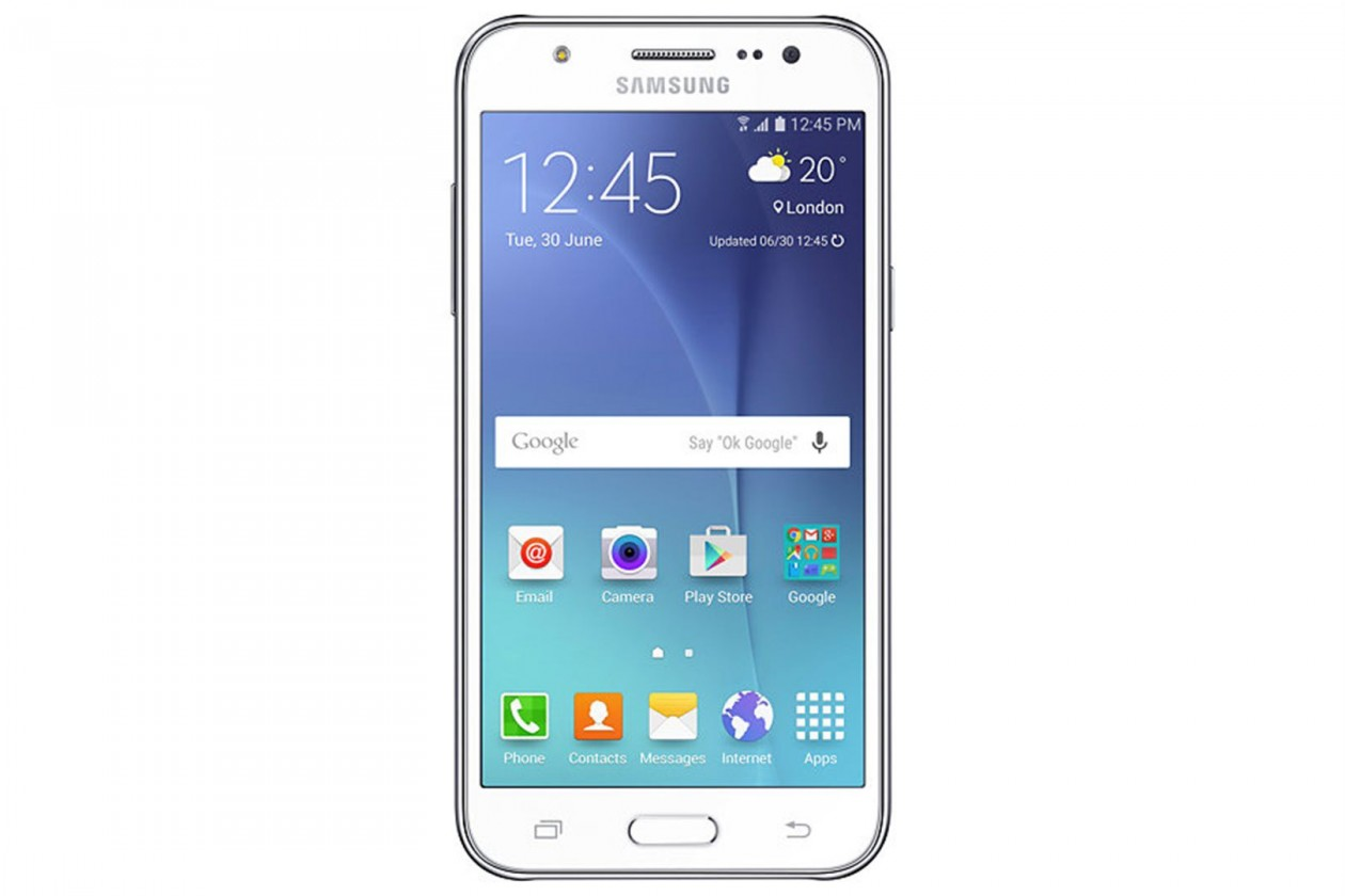 Dual SIM telefon Samsung Galaxy J5 Duos White