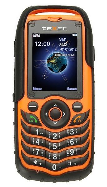 Dual SIM telefon TeXet TM-510R ROZBALENO