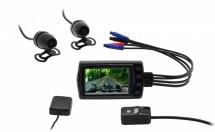 Duální autokamera CEL-TEC MK01 GSP, WiFi, FullHD, WDR, 140° POUŽI