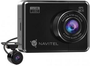 Duální kamera do auta Navitel R700 FullHD, GPS, WiFi, 170°