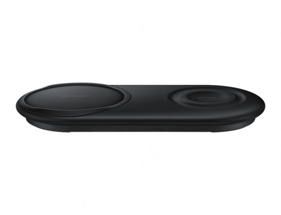 Duální nabíjecí podložka Samsung pro bezdrátové nabíjení, černá